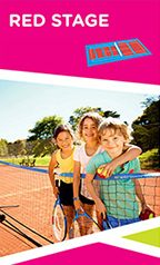 Hot Shots Tennis Lessons Red Stage