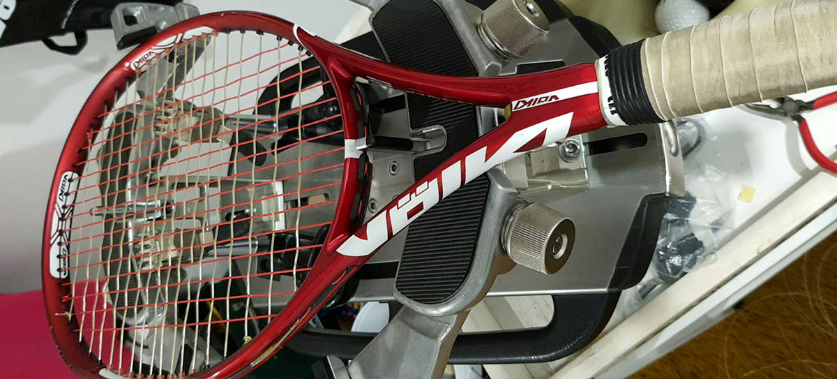 Tennis racquet restringing in Coombabah