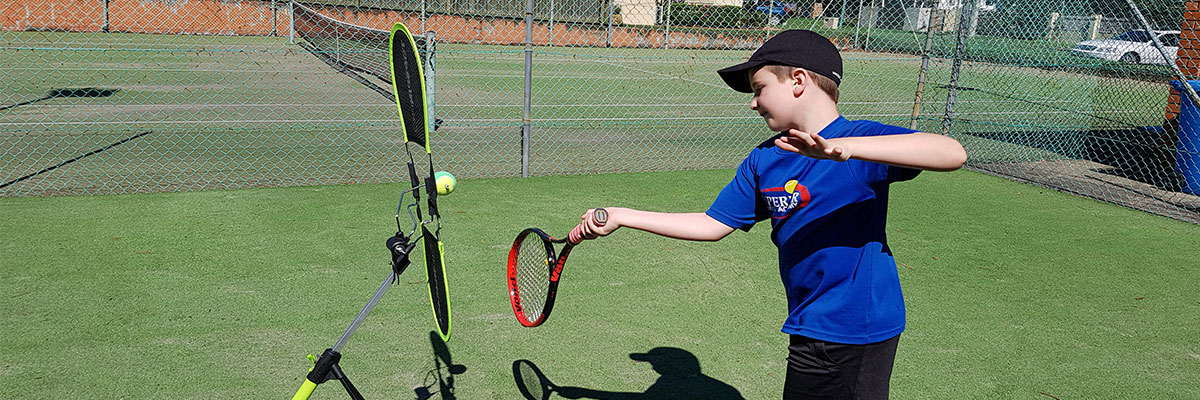 Private tennis lessons allow us to give you personalised training